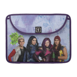 Macbook Pro 13' Flap Sleeve with Descendants Down With Auradon! design