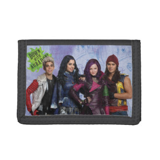 Down With Auradon Trifold Wallet