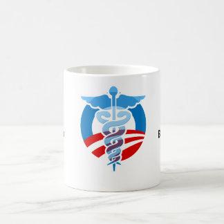 Down with big insurance mug