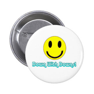 Down With Downs Pin