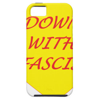 Down with Fascism iPhone SE/5/5s Case