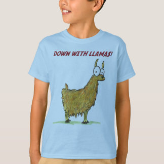 down with llamas T-Shirt
