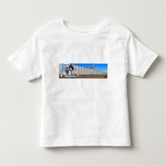 Down With The Wall Toddler T-shirt