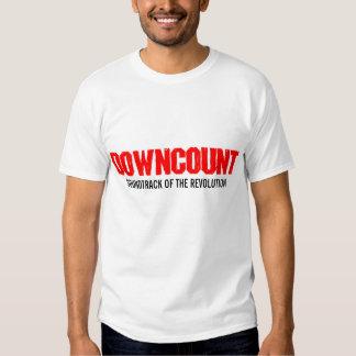 DOWNCOUNT Resist Collectivists Tour 2009 T-Shirt