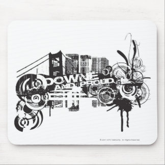 Downe and Proud Mouse Pad