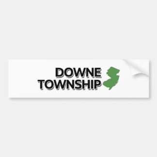 Downe Township, New Jersey Bumper Sticker