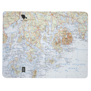 Maine Map Office & Products | Zazzle on
