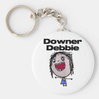 Downer Debbie Keychain