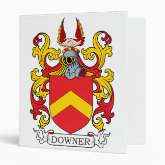 Downer Family Crest Binders
