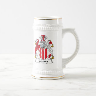 Downes Family Crest Mugs