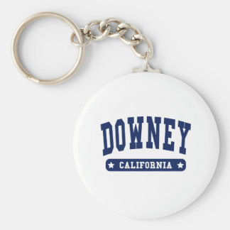 Downey California College Style tee shirts Keychains