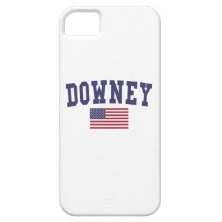 Downey US Flag iPhone SE/5/5s Case