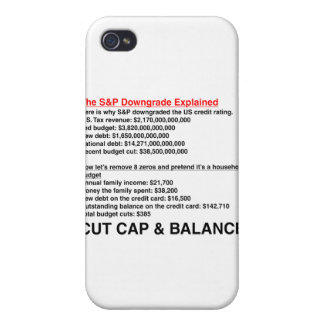 Downgrade de S&P explicado iPhone 4 Funda