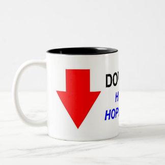 DOWNGRADED! #2 Two-Tone COFFEE MUG