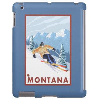 Downhhill Snow Skier - Montana