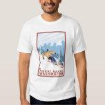 Downhhill Snow Skier - Mount Baker, Washington Shirt
