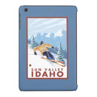 Downhhill Snow Skier - Sun Valley, Idaho iPad Mini Retina Cases