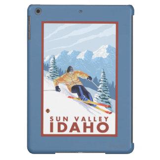 Downhhill Snow Skier - Sun Valley, Idaho iPad Air Case