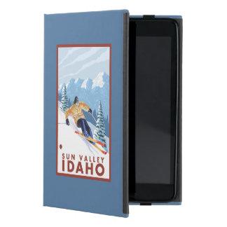 Downhhill Snow Skier - Sun Valley, Idaho iPad Mini Cover