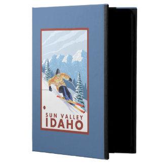 Downhhill Snow Skier - Sun Valley, Idaho Cover For iPad Air