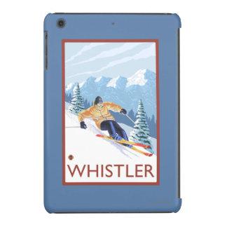 Downhhill Snow Skier - Whistler, BC Canada iPad Mini Covers