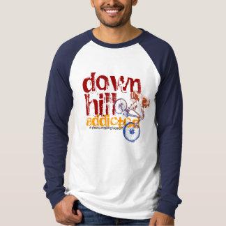 Downhill Addicted Cool Bikin Design T-Shirt