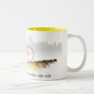 Downhill Cruiser Coffee Mugs
