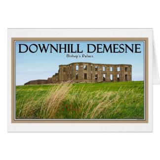 Downhill Demesne Card