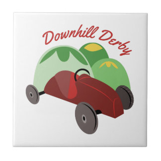 Downhill Derby Tile
