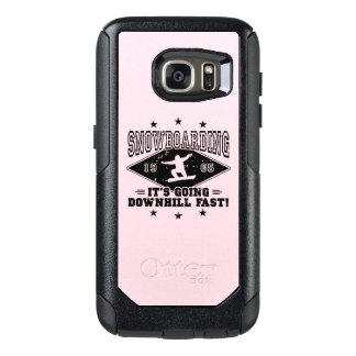 DOWNHILL FAST! (blk) OtterBox Samsung Galaxy S7 Case