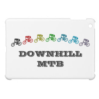 Downhill mountain bike jump iPad mini covers