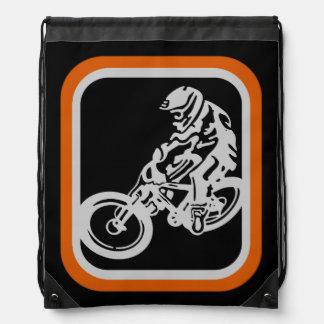 Downhill MTB Drawstring Bag