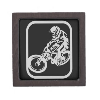 Downhill MTB Keepsake Box