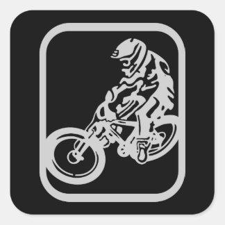 Downhill MTB Square Sticker