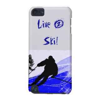 Downhill on the Ski Slope iPod Touch (5th Generation) Cover