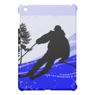 Downhill on the Ski Slope Cover For The iPad Mini