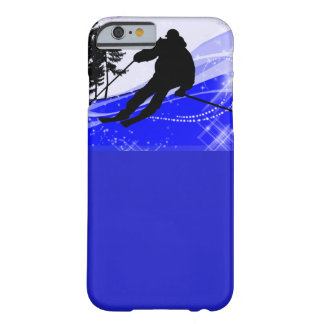 Downhill on the Ski Slope iPhone 6 Case