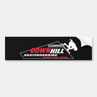 Downhill Skateboarding World Cup Bumper Sticker