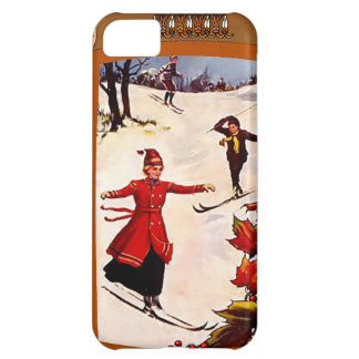 Downhill ski iPhone 5C cover