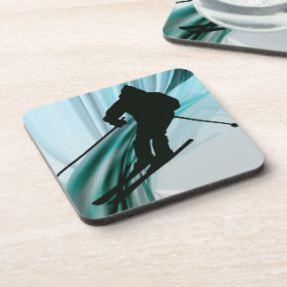 Downhill Skier on Icy Ribbons Coaster