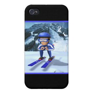 Downhill Skiing 2 iPhone 4 Case