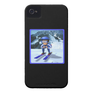 Downhill Skiing 2 iPhone 4 Case-Mate Cases