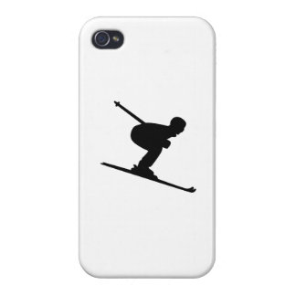 Downhill Skiing iPhone 4 Case