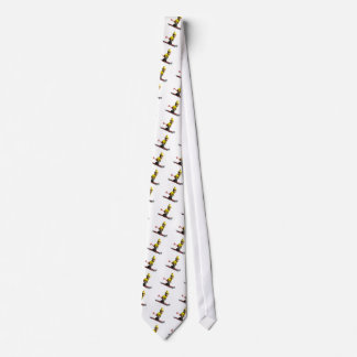 Downhill Skiing Neck Tie