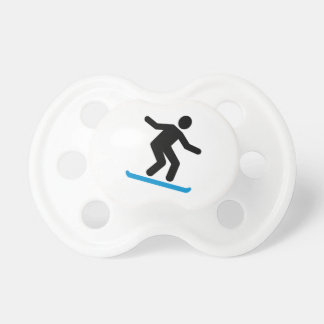 Downhill snowboarding pacifiers