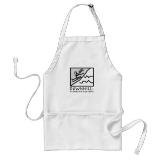 Downhill Thrill Aprons