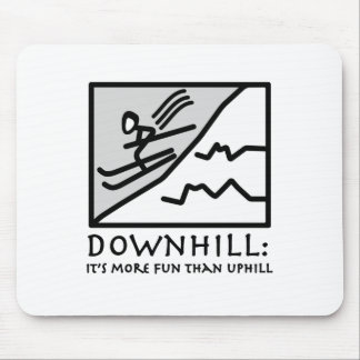 Downhill Thrill Mouse Mat