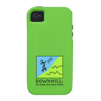 Downhill Thrill - Skateboarding Case-Mate iPhone 4 Case