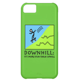 Downhill Thrill - Skateboarding Cover For iPhone 5C