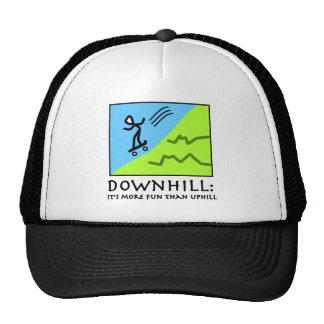 Downhill Thrill - Skateboarding Trucker Hat